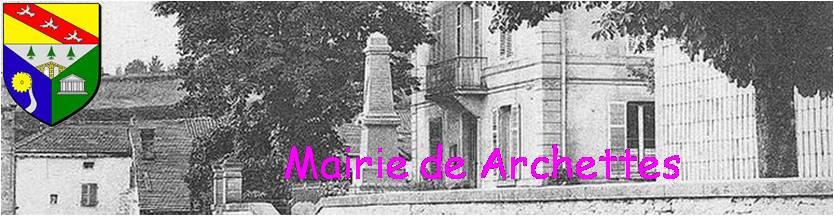 Mairie de ARCHETTES
